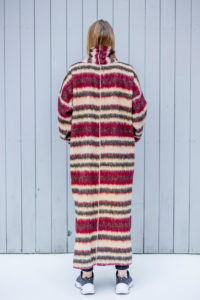 plaszczyk kopenhaga maroon tył 1