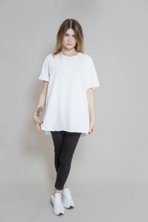 biały_t-shirt_delCane_widok_przód