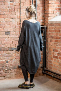 delcane-sukienka-amsterdam-wool-tyl bez paska