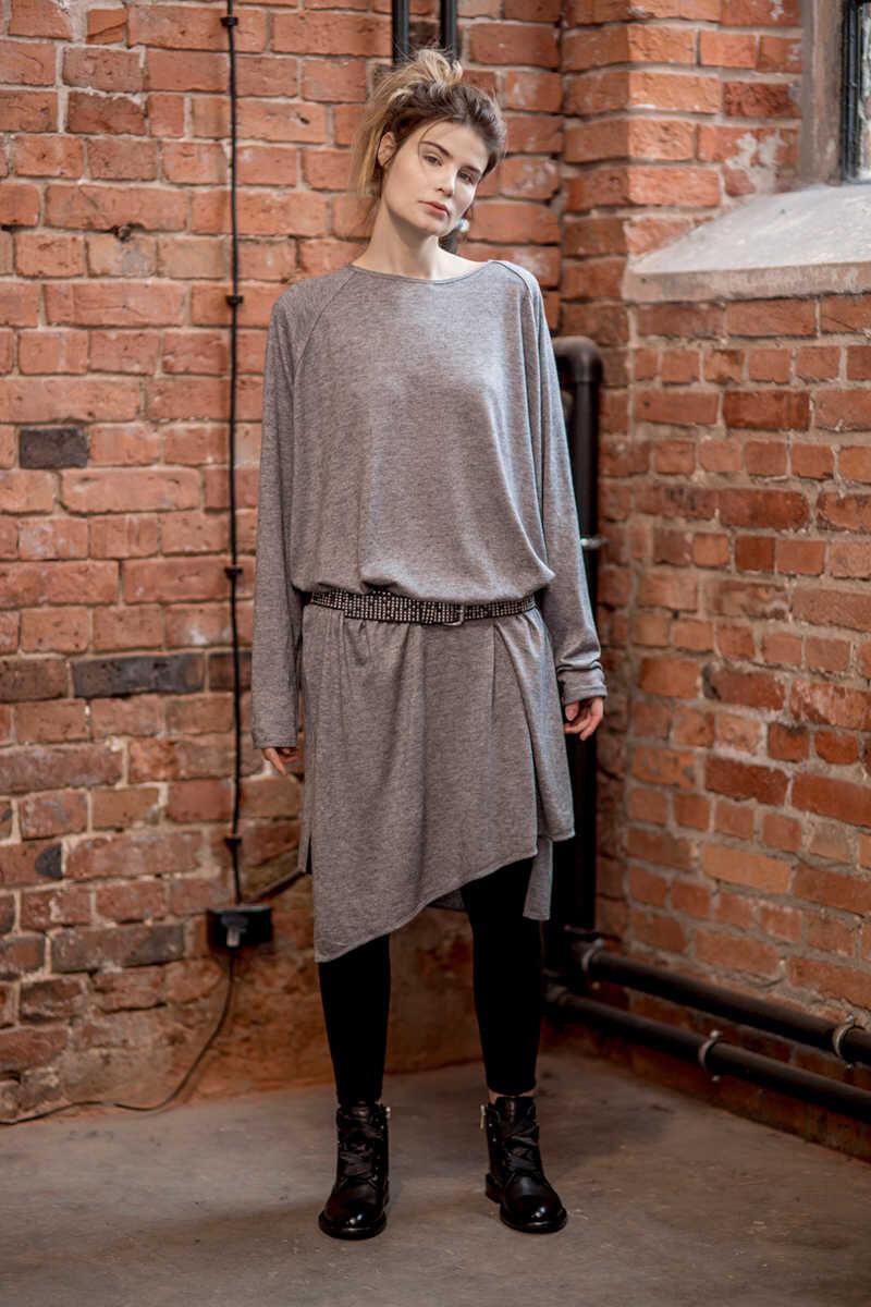 delcane-oversize-szara-sukienka-amsterdam-gray-przód_1