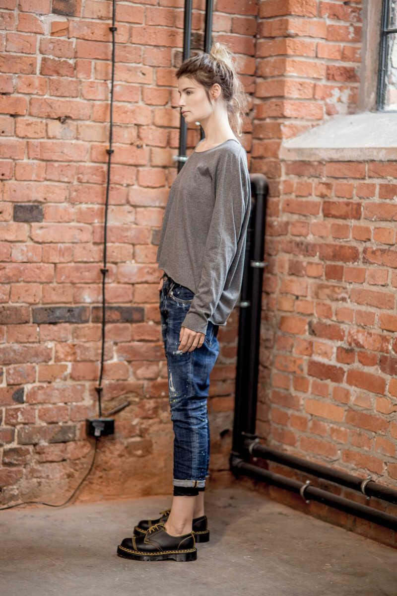 krótka-bluzka-amsyterdam-Gray-lewy bok