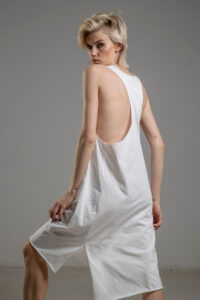 biala bokserka delCane TOKYO white bok 1m