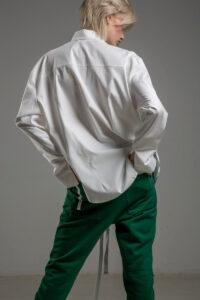 biala koszula delcane grunge TOKYO white tyl 1m
