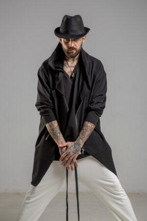 delcane bluza mus TOKYO black him przod 1m