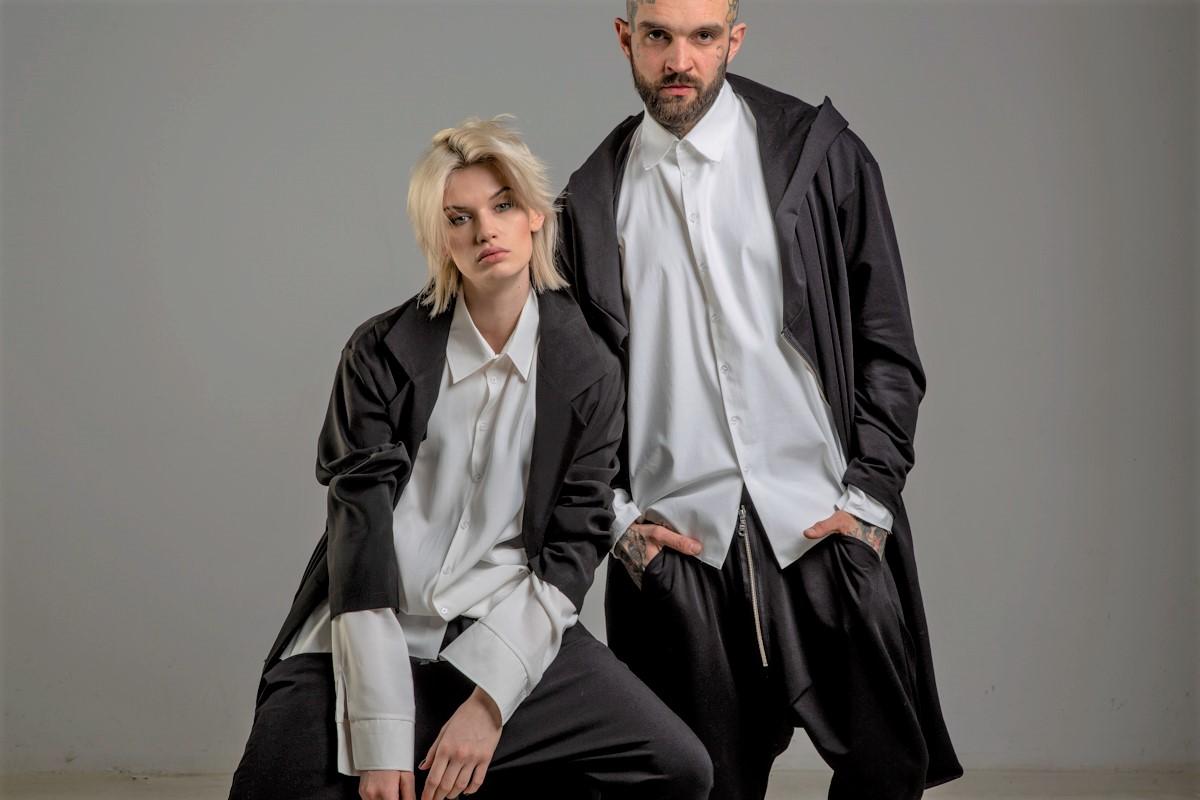 delcane kolekcja TOKYO frony page oversize fashion unisex 1a