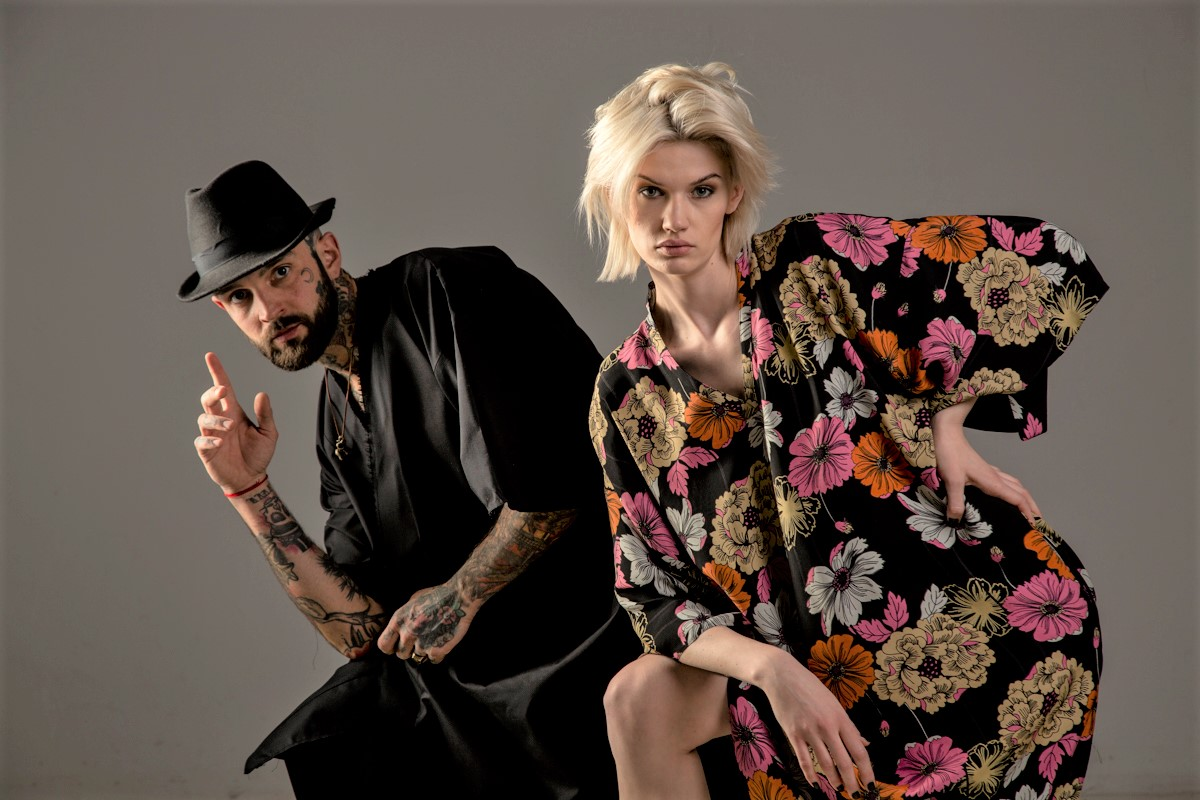 delcane kolekcja TOKYO frony page oversize fashion unisex 3a