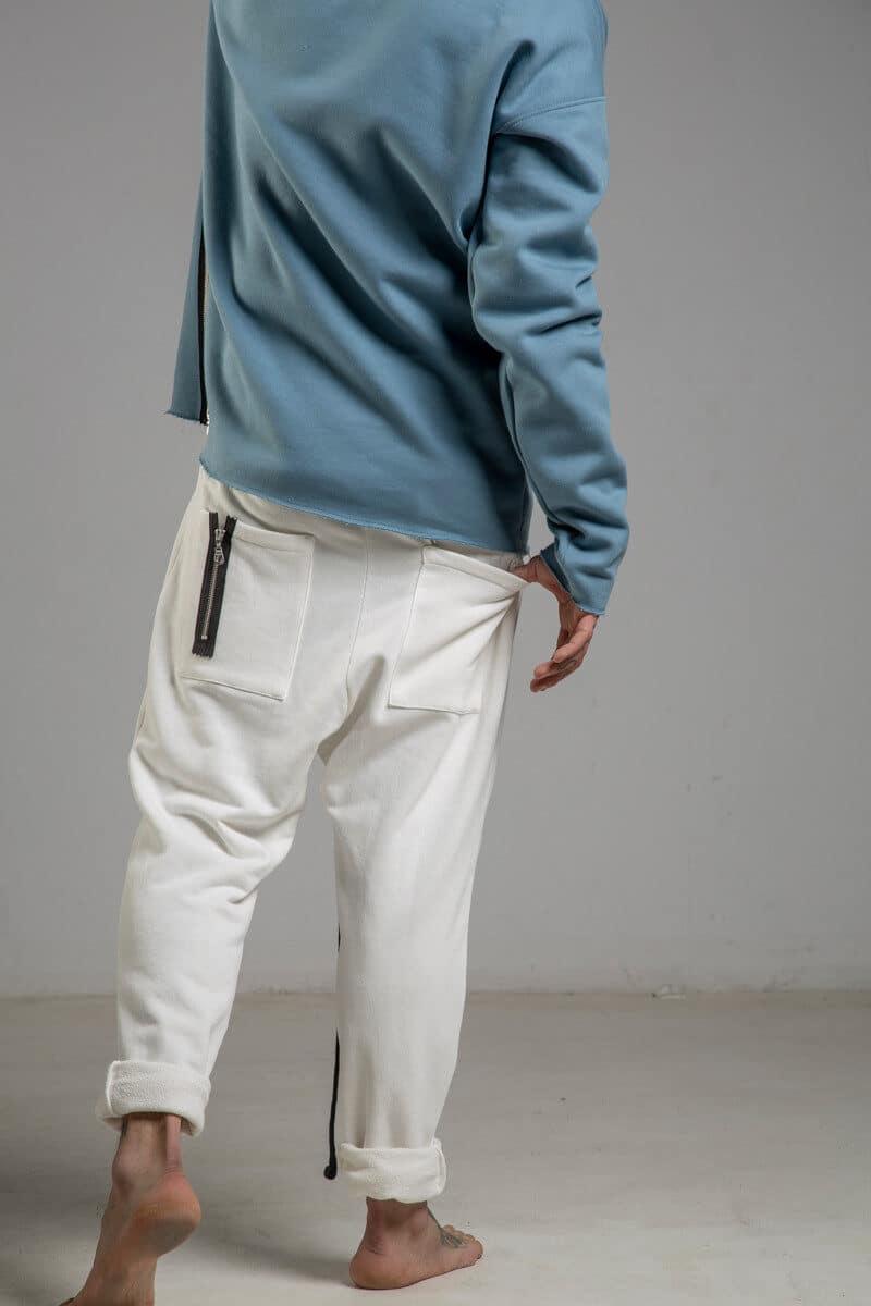 delcane-spodnie-biale-bawelniane-tyl