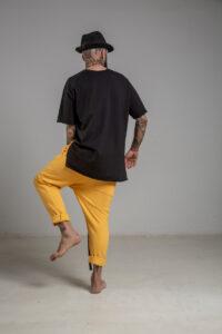delcane tshirt tokyo black men tyl 2m